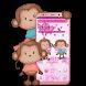 Cute Cartoon Monkey Theme by Luxury Mobile Themes