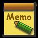 CS MemoPad - simple memopad by Shingo SUZUKI - Crescendo Studio