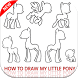 how to draw my little pony by devlopermolka
