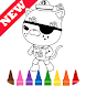 Learn Draw Coloring for Octonaues by Fans by Learn Draw Coloring Camps