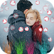 Heart Photo Effect Video Maker With Music by Design Art Studio
