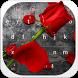 Red Rose Keyboard by Designer Superman