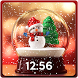Christmas Snow Globe Wallpaper App by Pink Girly Apps