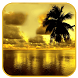 Golden sunset Live Wallpaper by Keyboard and HD Live Wallpapers