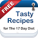 17 Day Diet Recipes - FREE by JKG Fit Kit Apps