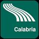 Calabria Map offline by iniCall.com