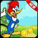Super Woody Run Adventure woodpecker by kiddsgame-adventure