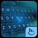 Blue Tech Hologram Keyboard Theme by Love Free Themes