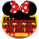 Cute Micky Bow keyboard Theme by Keyboard Theme Creator