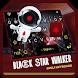 Black Star Walker Theme&Emoji Keyboard by happy emoji keyboard theme studio