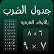 جدول الضرب بالعربي by Oulkids