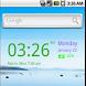 My Color Digital Clock Widget by ecSoft