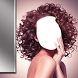 Girls Curly Hair Photo Camera by Bravo Montages
