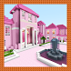 Fancy Pink Mansion. MCPE map by Azhar Chabaidze