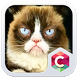 Grumpy Cat Theme C Launcher by Baj Launcher Team