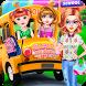 School Teacher Girls Classroom Trip-Kids Games