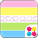 Colorful Theme-Twirly Heart- by +HOME by Ateam