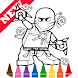 Learn Draw Coloring for NinjaGO by Fans by Learn Draw Coloring Camps