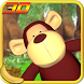 Jungle Monkey Fruit 3D Games by DaDo