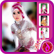 Bridal Hijab Selfie by dahlia