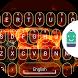 Fire Sports Car Theme Keyboard by Best Keyboard Theme Design
