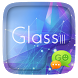 (FREE) GO SMS GLASS III THEME by ZT.art