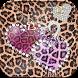 Luxury leopard heart Theme by Leopard Print Themes