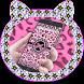 Pink LeopardSkin theme by Utone Theme