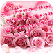 Pink Rose Keyboard Theme by Keyboard Design Paradise