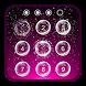 Lockscreen bubbles by Satellite finder