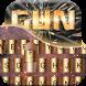 Gun Bullet Keyboard Theme by Keyboard Theme Studio
