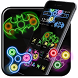 Neon Fidget Spinner Cool Theme by Launcher Fantasy