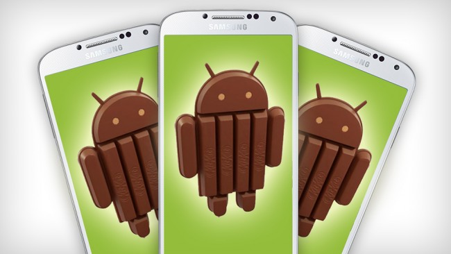 Android 4.4 Update for Samsung Galaxy S4, S3, Note 2 and Note 3