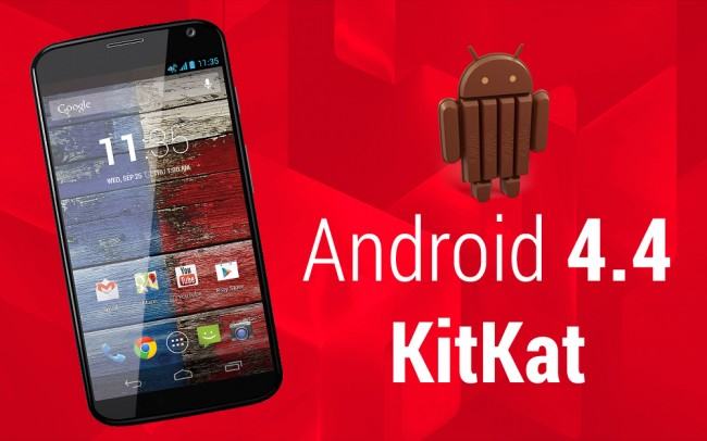 Motorola Releases Android 4.4 KitKat for Moto X - Verizon, T-Mobile & AT&T