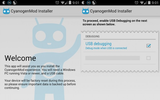 CyanogenMod Installer App Removed from Play Store