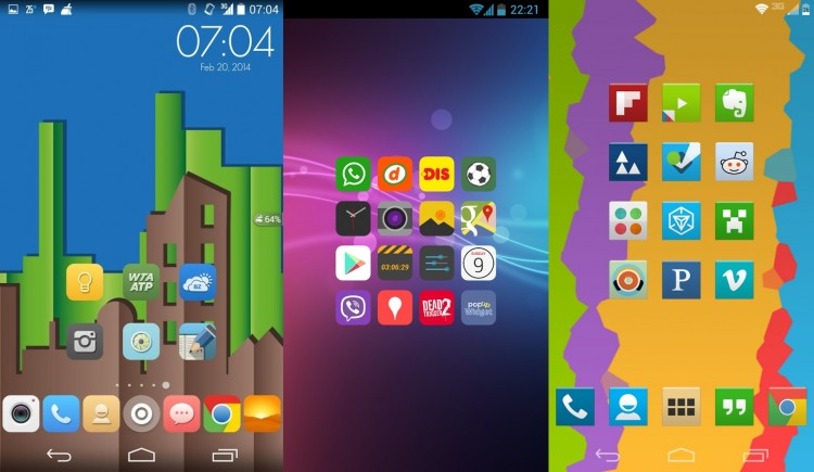 Best Free Android Icon Packs - May 2014 Roundup