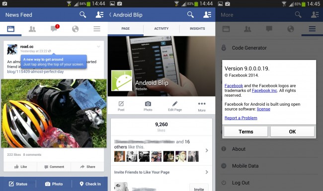 Want the New Facebook Android App UI? Here is How to Get It!