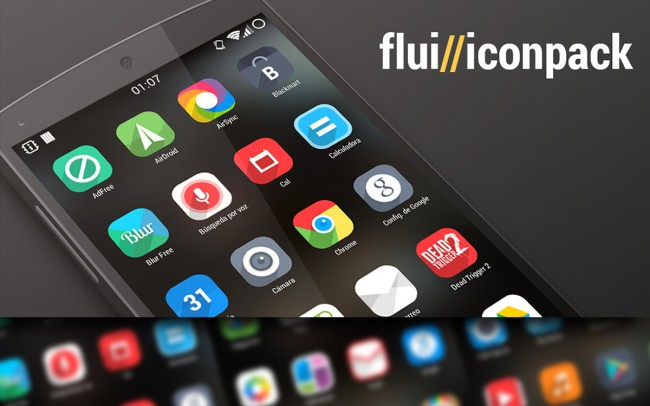 FluiTheme by Draseart - Free Android Icon Pack, APK Download